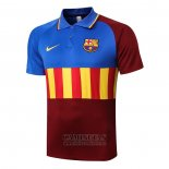 Polo Barcelona 2020-2021 Azul y Marron