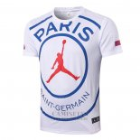 Entrenamiento Paris Saint-Germain Jordan 2020-2021 Blanco