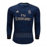 Camiseta Real Madrid Segunda Manga Larga 2019-2020