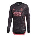 Camiseta Real Madrid Tercera Manga Larga 2020-2021
