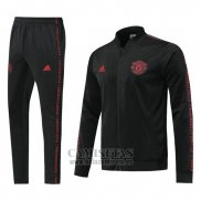 Chandal del Manchester United 2019-2020 Negro