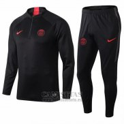 Chandal del Paris Saint-Germain 2019-2020 Negro