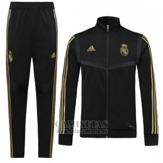 Chandal del Real Madrid 2019-2020 Negro