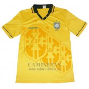 Camiseta Brasil Commemorative Retro Amarillo