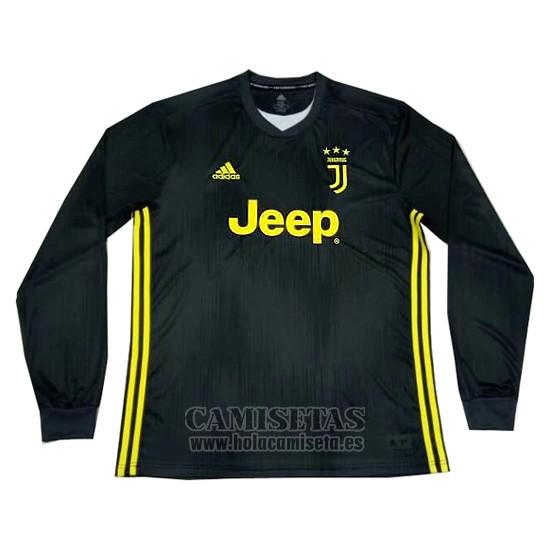 Camiseta Juventus Primera Manga Larga 2018-2019 de159352c9e15