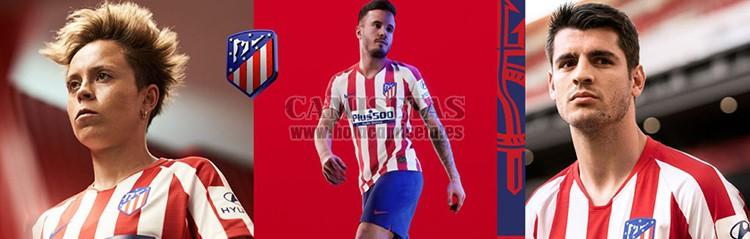 camisetas de futbol Atletico Madrid baratas