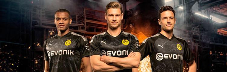 camisetas de futbol Borussia Dortmund baratas