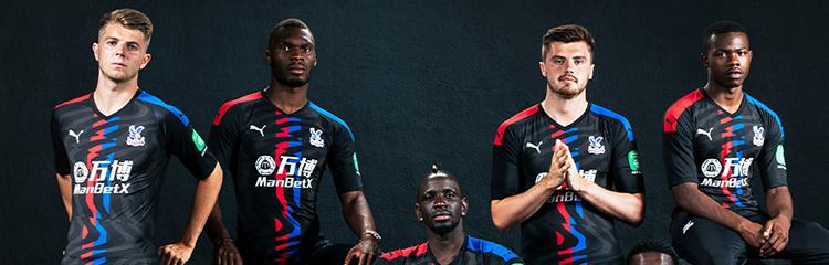 camisetas de futbol Crystal Palace baratas