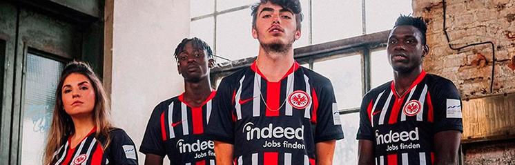 camisetas de futbol Eintracht Frankfurt baratas