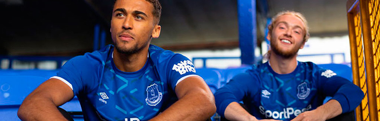 camisetas de futbol Everton baratas