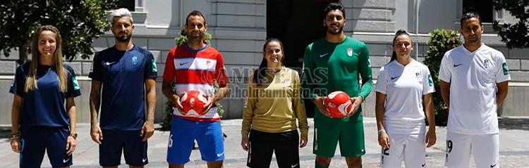 camisetas de futbol Granada
