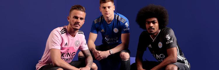 camisetas de futbol Leicester City baratas
