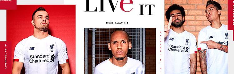 camisetas de futbol Liverpool baratas