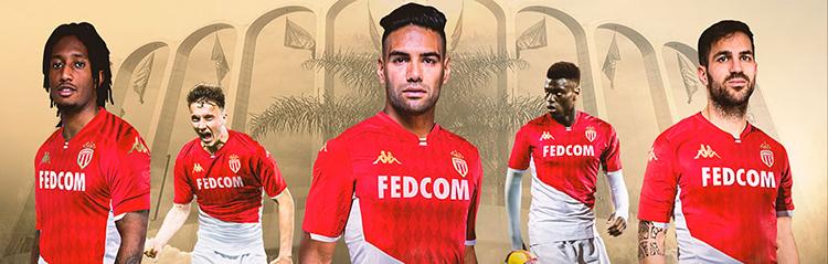 camisetas de futbol Monaco baratas