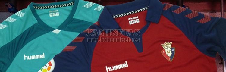 camisetas de futbol Osasuna