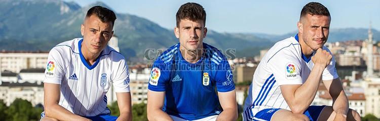camisetas de futbol Real Oviedo
