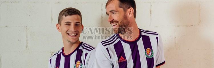 camisetas de futbol Real Valladolid