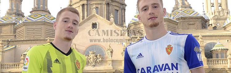 camisetas de futbol Real Zaragozaa