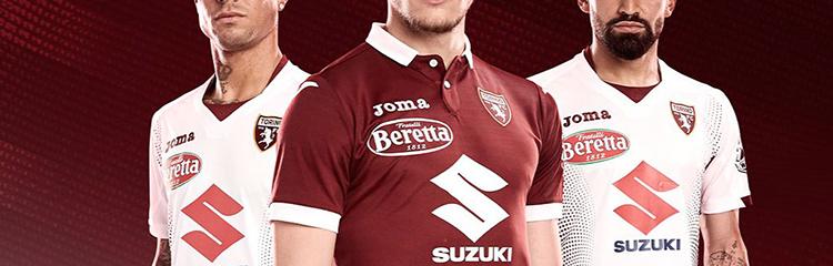 camisetas de futbol Turin baratas