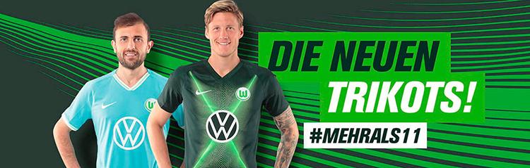 camisetas de futbol Wolfsburg baratas