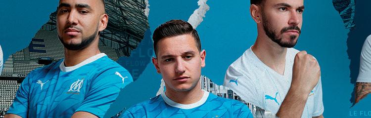 camisetas de futbol Olympique Marsella baratas