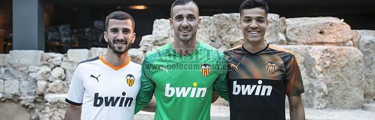 camisetas de futbol Valencia